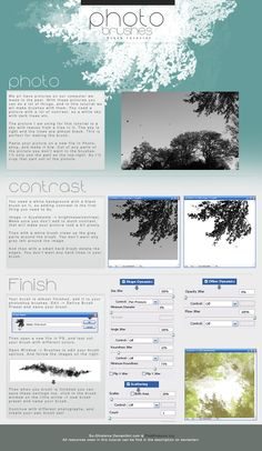 Tutorial - Photo Brushes by So-ghislaine.deviantart.com on @deviantART