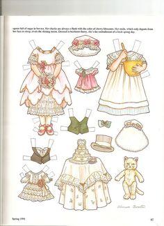 Sew Beautiful paper doll Bessie 2 | Flickr - Photo Sharing!