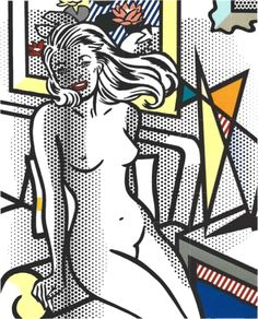 Nude with a Yellow Pillow, 1994 by Roy Lichtenstein