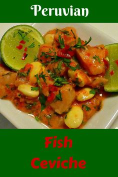 Peruvian fish ceviche - find out how to make this dish, famous for being the…