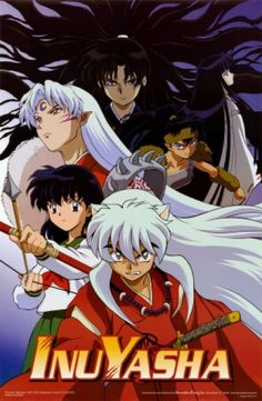 InuYasha! I watched it at night when I was a kid o nthe weekends.