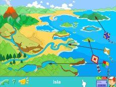 Accidentes geográficos: playa, montaña, río, lago... Más y mejor en PIPO ONLINE #mapas #geografía #medio