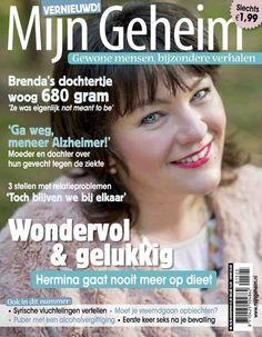 Mijn Geheim, Wondervol, Happy, Hermina de Vries, op de cover,