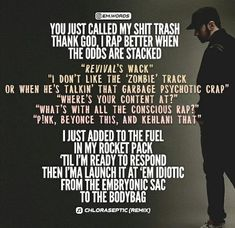 Best Rapper, Save My Life, Thank God, Eminem, Call Me, Beyonce, All About Time, Shit Happens, Motivation
