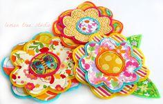 NEW Fresh Picked Flowers Justina  Handmade by LemonTreeStudio, $10.95