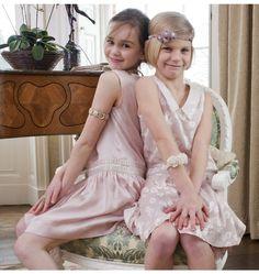 Drop-Waist Flapper Girl Dress | 41 Flower Girl Dresses That Are Better Than Grown-Up People Dresses
