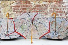 Image of iconic umbrella - directions