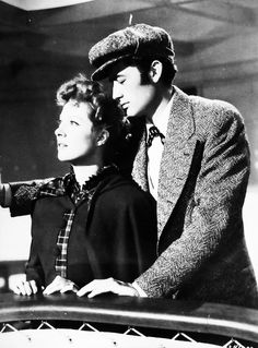 Greer Garson and Gregory Peck...she starred with many great leading men...but she could hold her own very well...