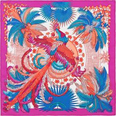 Mythiques Phoenix - Blue, Pink and Red