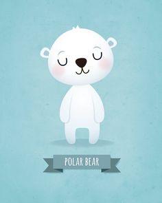 Nursery art print Nursery wall decor Childrens art Kids wall art Panda Koala Bear Polar bear Set of prints Baby boy Wall art Boys nursery. Boy Wall Art, Nursery Wall Art, Kids Prints, Art Prints, Image Deco, Baby Illustration, Bear Nursery, Boy Drawing, Baby Art