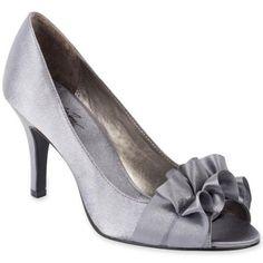 Jacqueline Ferrar Tiffany Peep-Toe Bow Pumps