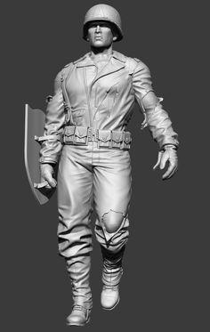 Universal soldier (3D work)