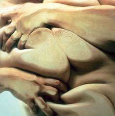Close Contact - Jenny Saville & Glen Luchford: Photocopier distortion
