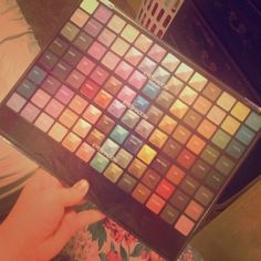 104 eyeshadow palette 104 eyeshadow palette gently used a few shades but most untouched. There is no brand but all the colors have names and are pretty pigmented. Open to offers Makeup Eyeshadow