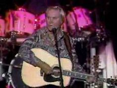 George Jones - One Woman Man send me things...& does he look dead to you!!! don't to me...