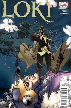 Loki (2010 2nd Series Marvel) 2 Marvel Comics Modern Age Comic book covers Super Heroes Villians Avengers bad guy