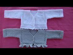 jersey de bebe leo also Knitting For Kids, Baby Knitting Patterns, Knitting Designs, Knitted Baby Cardigan, Knit Baby Sweaters, Knit Or Crochet, Crochet Baby, Brei Baby, Coat Patterns
