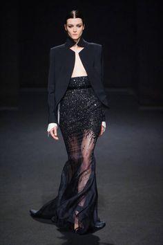 Stephane Rolland Haute Couture runway fashion Fall 2013