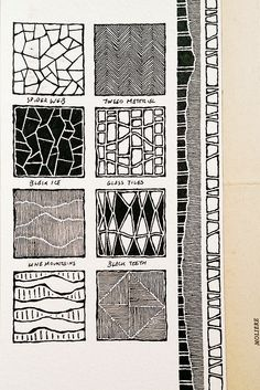Moleskine 03, #077, patterns, backgrounds