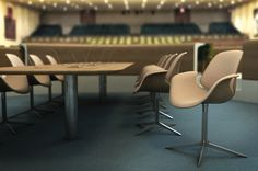 Kasper Salto & Thomas Sigsgaard conference table and chair for the United Nations HQ @Anna Totten Totten Robbins thought you would like these too!