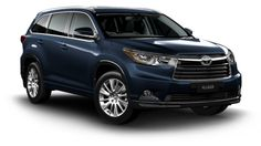 Toyota Kluger - The Perfect 7 Seat Family SUV