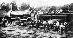 "GWR Ariadne class loco ""Nemesis"", at Trowbridge, not later than 1872 Time Travel Machine, Abandoned Train, Steam Railway, Old Trains, Train Engines, Thomas The Tank, Great Western, Steam Engine, Steam Locomotive"