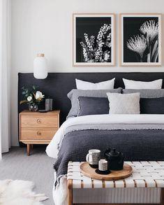 Best Scandinavian Bedroom Interior Design Ideas - Home Design Dream Bedroom, Home Decor Bedroom, Modern Bedroom, Contemporary Bedroom, Bedroom Ideas, Bedroom Inspo, Bedroom Designs, Bedroom Simple, Bedroom Wardrobe