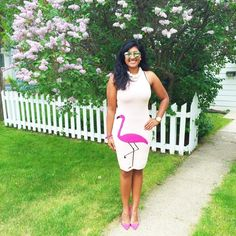 Fun with flamingos this outfit is great for summer now on MyFashionStage.com #style #wiw #look #outfitpost #flamingo #pink #dressup