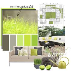 Summer Grass, created by lollypop1.polyvore.com  I love the color combo!!!