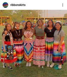 Jingle Dress, Powwow Regalia, Native American Clothing, Ribbon Skirts, Ribbon Work, Bead Weaving, Beaded Earrings, Folk Art, Weave