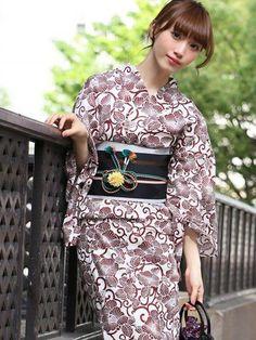 empowr Beautiful Japanese Girl, Japanese Beauty, Asian Beauty, Yukata Kimono, Kimono Dress, Japanese Costume, Japanese Kimono, Japanese Outfits, Young Fashion