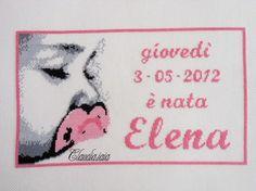 Quadro nascita Elena - Dall'album di Claudia.iaia
