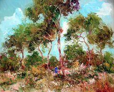 Carlos Giner - Obra en Galería de Arte Puerta de Alcalá Impressionist Artists, Spanish, Artwork, Plants, Room Art, Exhibitions, Scenery, Pintura, Work Of Art