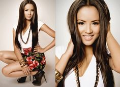 Emmalyn estrada from GRL Emmalyn Estrada, Hair Beauty, Faces, Photoshoot, Hairstyles, Celebrities, Dresses, Fashion, Haircuts
