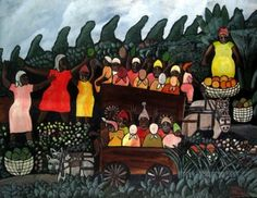 """Mallica """"Kapo"""" Reynolds - Breadseekers 1972. Exhibited at the National Gallery of Jamaica"""