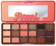 NEW! Too Faced Sweet Peach Eyeshadow Palette! My Favorite Fruit Ever! Can't Wait For This New Too Faced Cosmetics Sweet Peach Palette! *Currently Out Of Stock - Coming To ULTA Beginning Of April & SEPHORA Mid April