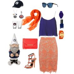 Going to the Auburn Graduation by fromphilly on Polyvore featuring polyvore, fashion, style, Topshop, Alice + Olivia, Charlotte Russe, Ted Baker, Fiora, Tory Burch, Nixon, Reed Krakoff, '47 Brand and Bobbi Brown Cosmetics