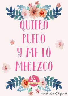 Sie - Art & Craft: ♥be happy Me Quotes, Motivational Quotes, Inspirational Quotes, Cool Words, Wise Words, More Than Words, Spanish Quotes, Positive Quotes, Positive Phrases