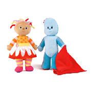 In The Night Garden 12` Soft Toy This talking plush has some fun music and sounds that will keep your little one entertained. It will come in either Iggle Piggle or Daisy. Age range 1 yr . http://www.comparestoreprices.co.uk/soft-toys/in-the-night-garden-12-soft-toy.asp