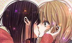 Yuzu y Mei Citrus (Saburo Uta) by on DeviantArt Anime Girlxgirl, Yuri Anime, Anime Love, Kawaii Anime, Anime Art, Lesbian Art, Lesbian Love, First Animation, Anime Couples