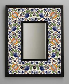 how to mosaic tile mirror frames - Google Search