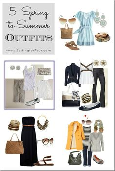 5 Spring to Summer Outfits from Setting for Four