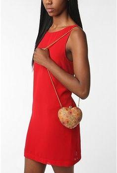 UrbanOutfitters.com > Kimchi Blue Hard Heart Purse - StyleSays