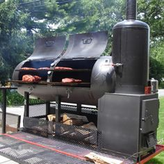 www.bbqlikeaboss.com Best wood burning barbecue smokers