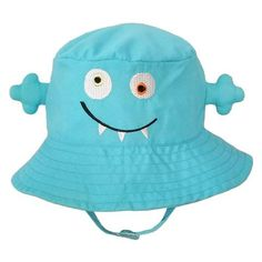 7618764a08b Goofy Blue Monster Sunhat for Baby Boys and Toddler Boys. Baby Boy Sun  HatBaby ...