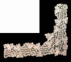 #art nouveau lace, #puntes modernistes, #encaje modernista, #Arenys de Mar Museum, #Casa Castells.
