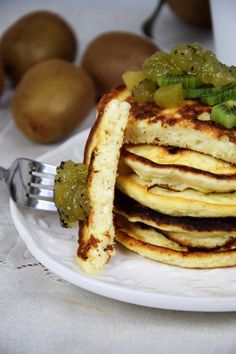 Diet Recipes, Recipies, Pancakes, Food And Drink, Sweets, Breakfast, Health, Fitness, Inspire