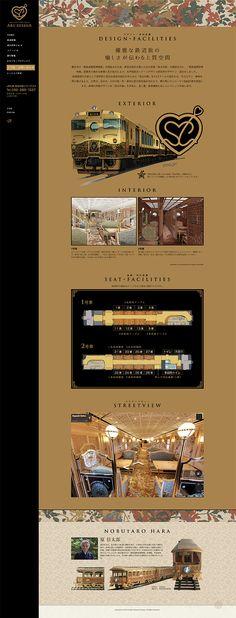JR九州 | JRKYUSHU SWEET TRAIN「或る列車」 - KawaiiDB   《可愛いデザインDB》 #webdesign  #design #graphic  #女性向けデザイン #webデザイン #イラスト  #ウェブデザイン #グラフィック #グラフィックデザイン Web Design, Site Design, Retro Design, Logo Design, Graphic Design, Meat Shop, Website Images, Travel Illustration, Landing Page Design