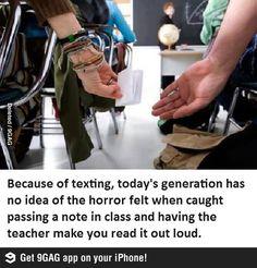 I miss school notes