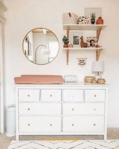 Boho Bedroom Furniture - Design for Your Dream Room Baby Bedroom, Baby Boy Rooms, Baby Boy Nurseries, Baby Room Decor, Ikea Baby Nursery, Nursery Dresser, Bedroom Decor, Girl Nursery Decor, Ikea Baby Room